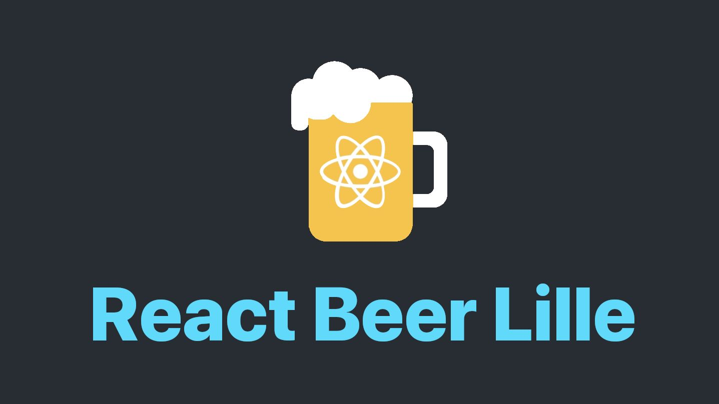 React Beer Lille