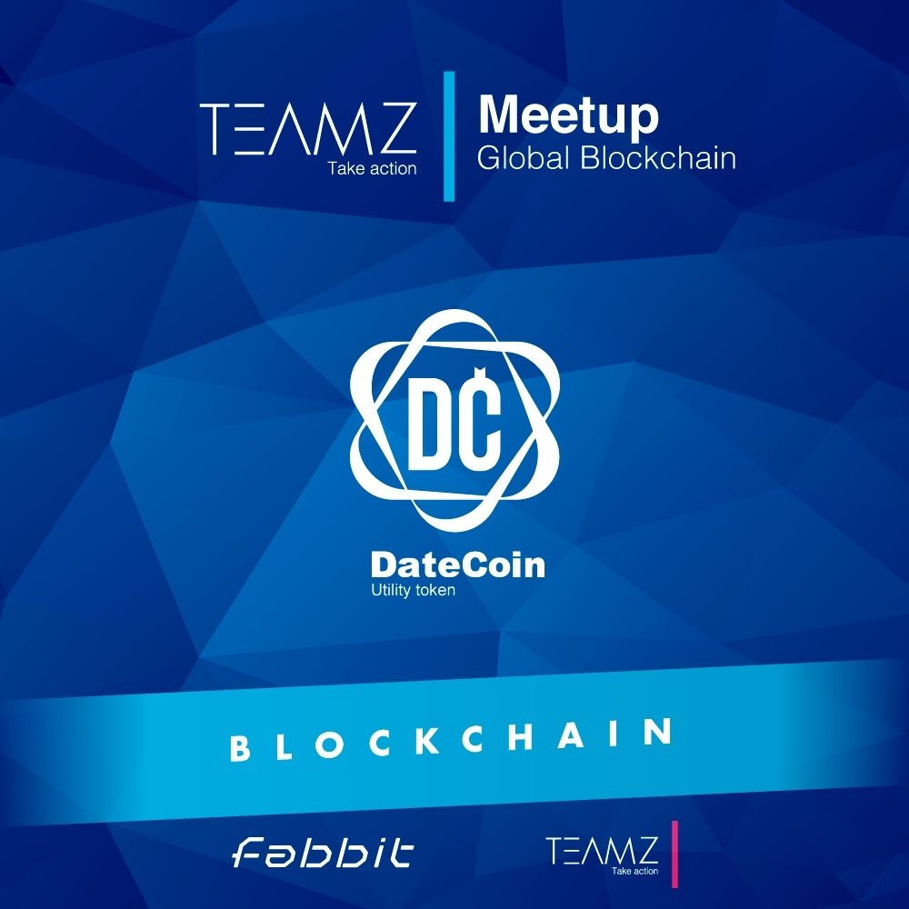 Global Blockchain Meetup by TEAMZ, Inc.