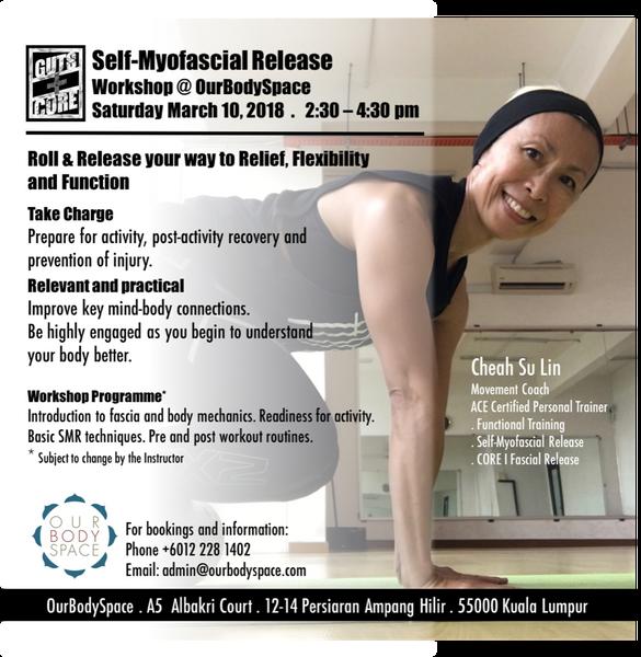 Self Myofascial Release Workshop Meetup