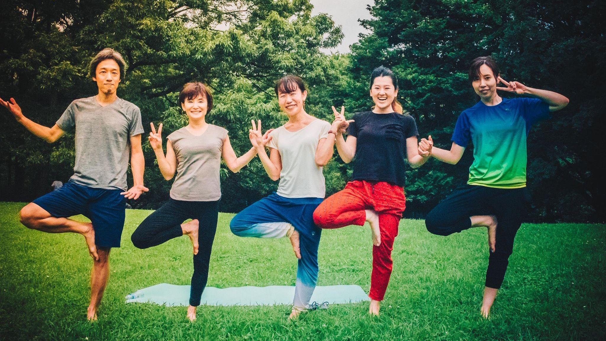 Sunday Park Yoga! - in Japanese & English