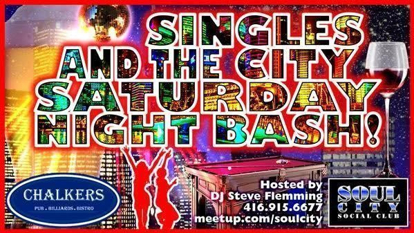 Singles and the City Saturday Night Bash* (Dancing, DJ & Pool Tables