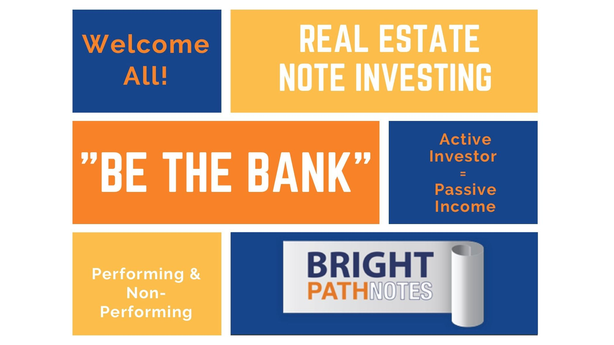 """Real Estate Note Investing - """"Be the Bank"""""""