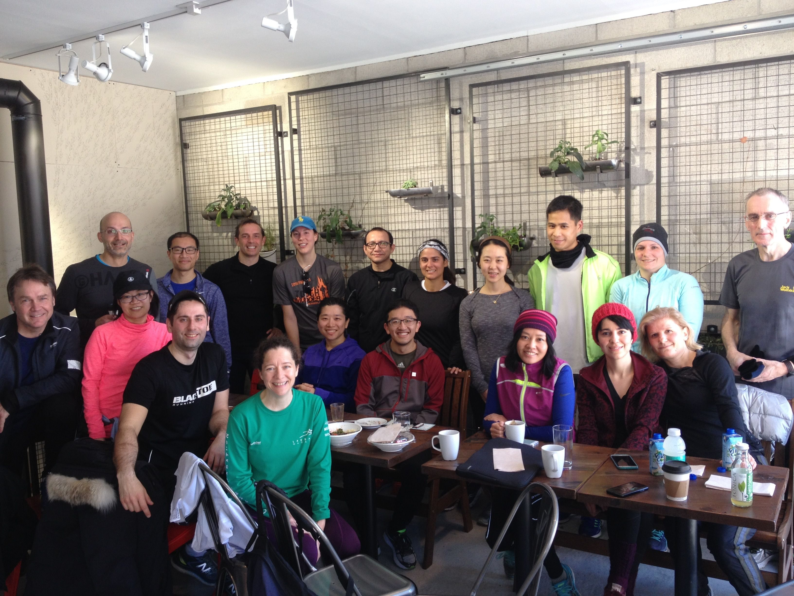 Toronto Running Walking and Fitness Lifestyle