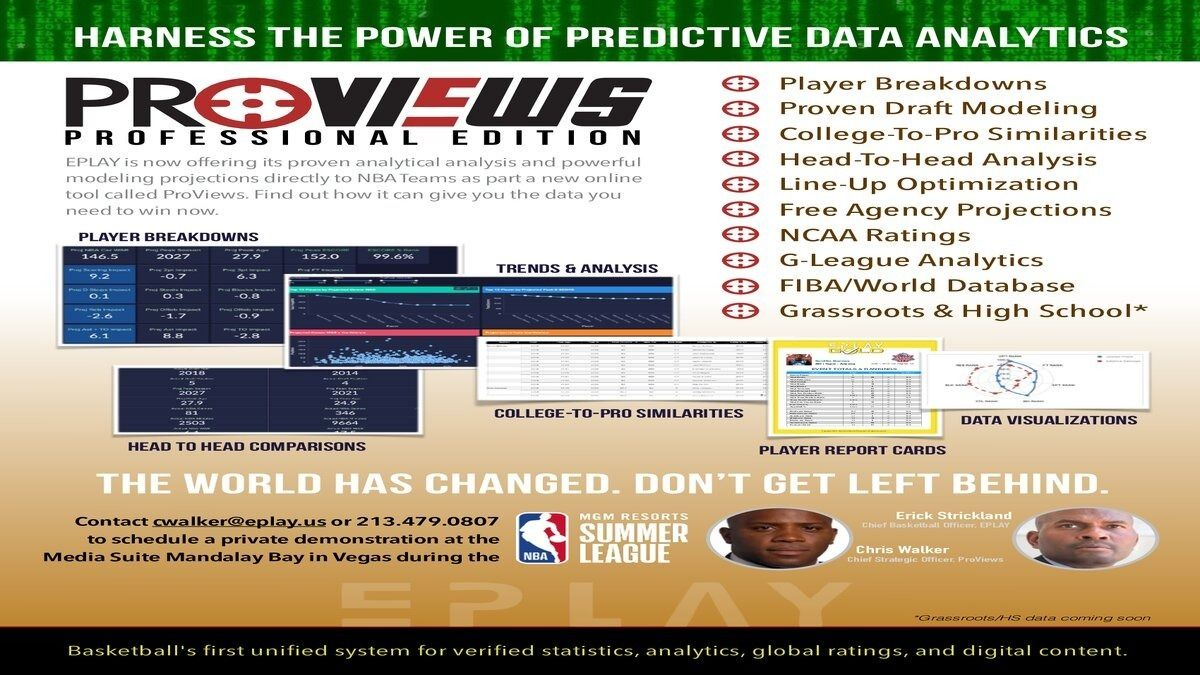 Sports Analytics Nerds; We're People Too: An EPLAY Workshop