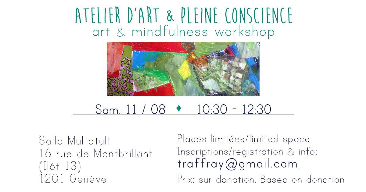 Art & Mindfulness Workshop / Atelier d'Art & Pleine Conscience