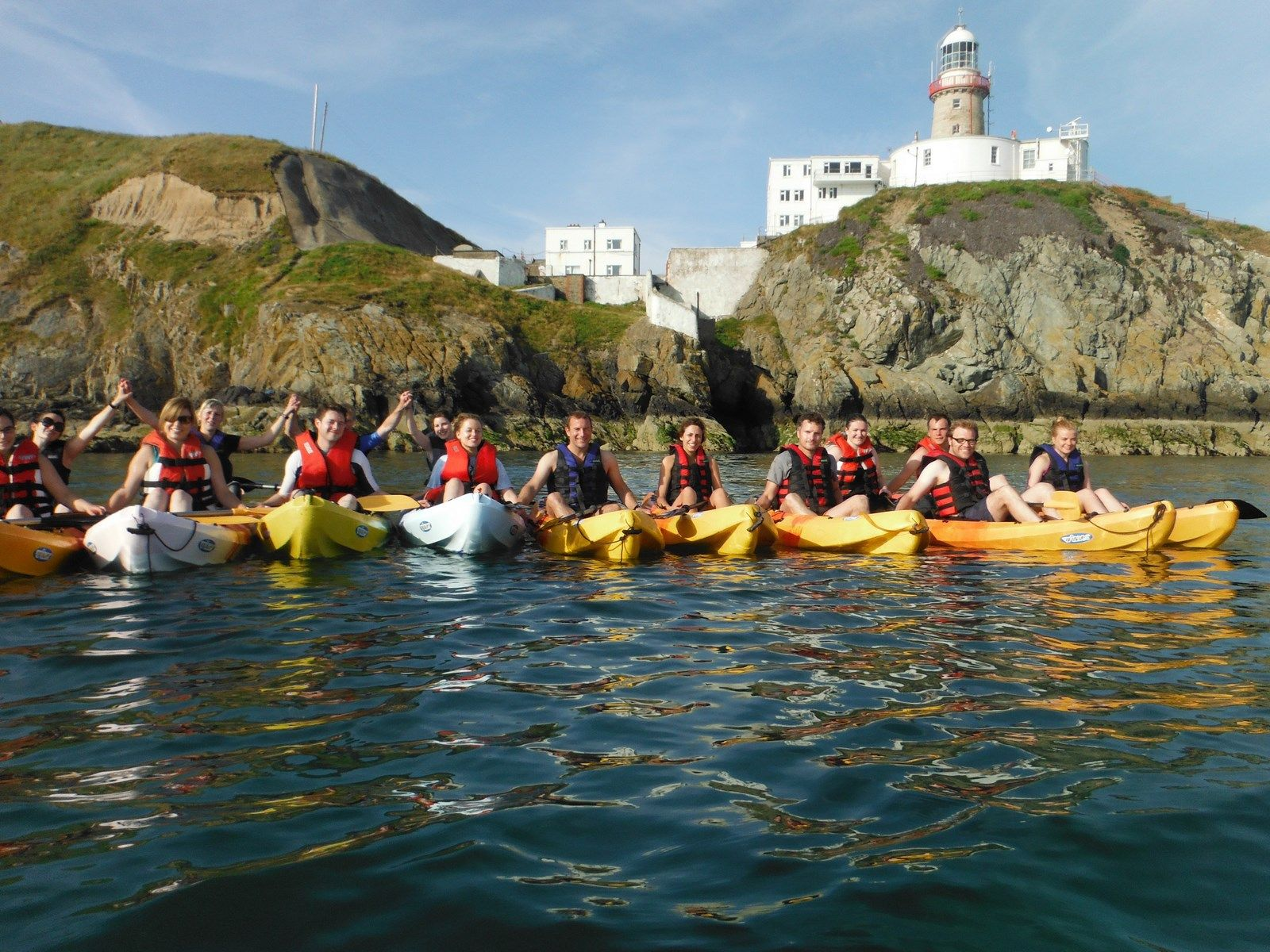 Sea kayaking to Baily Lighthouse - South Howth
