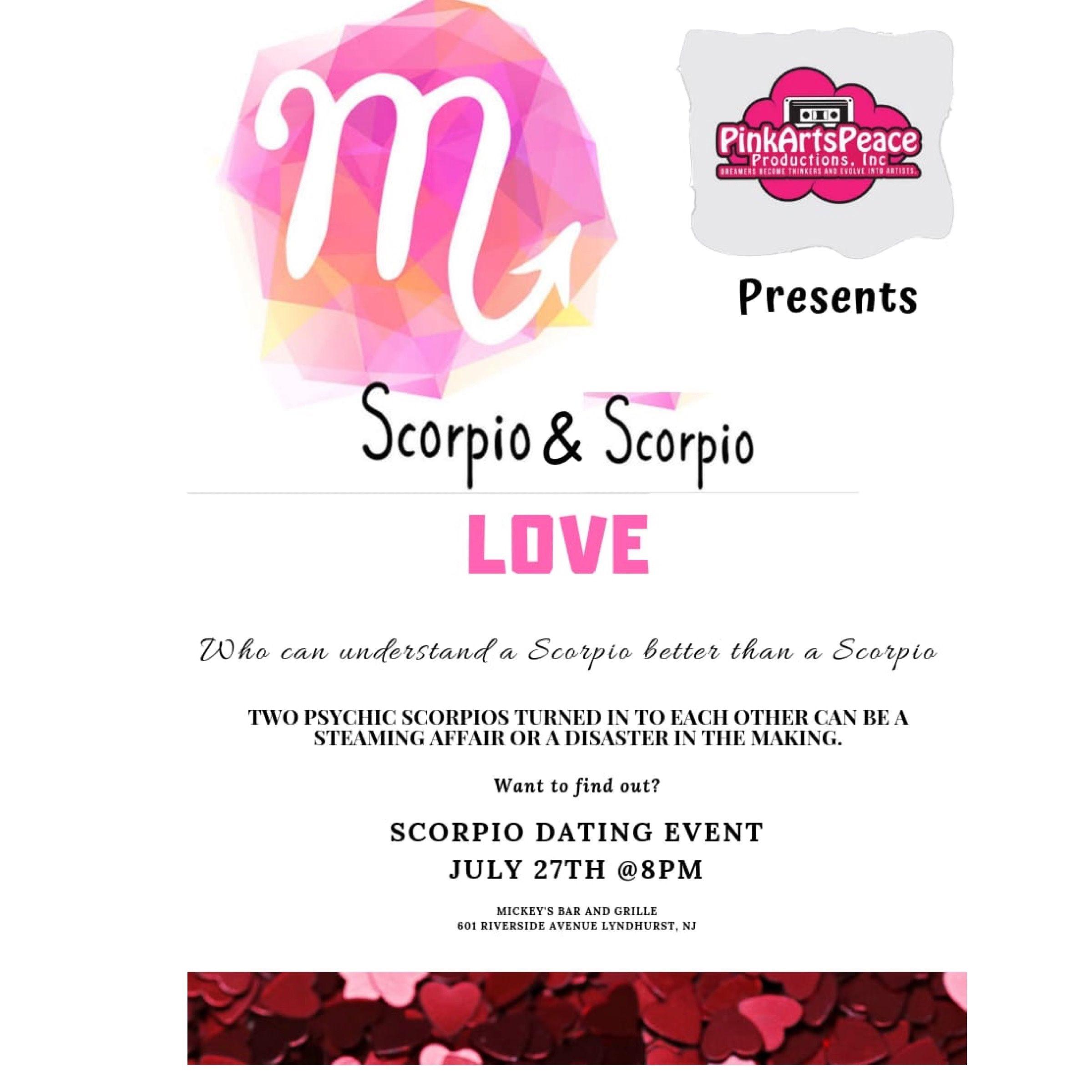 Scorpio & Scorpio Dating Mixer