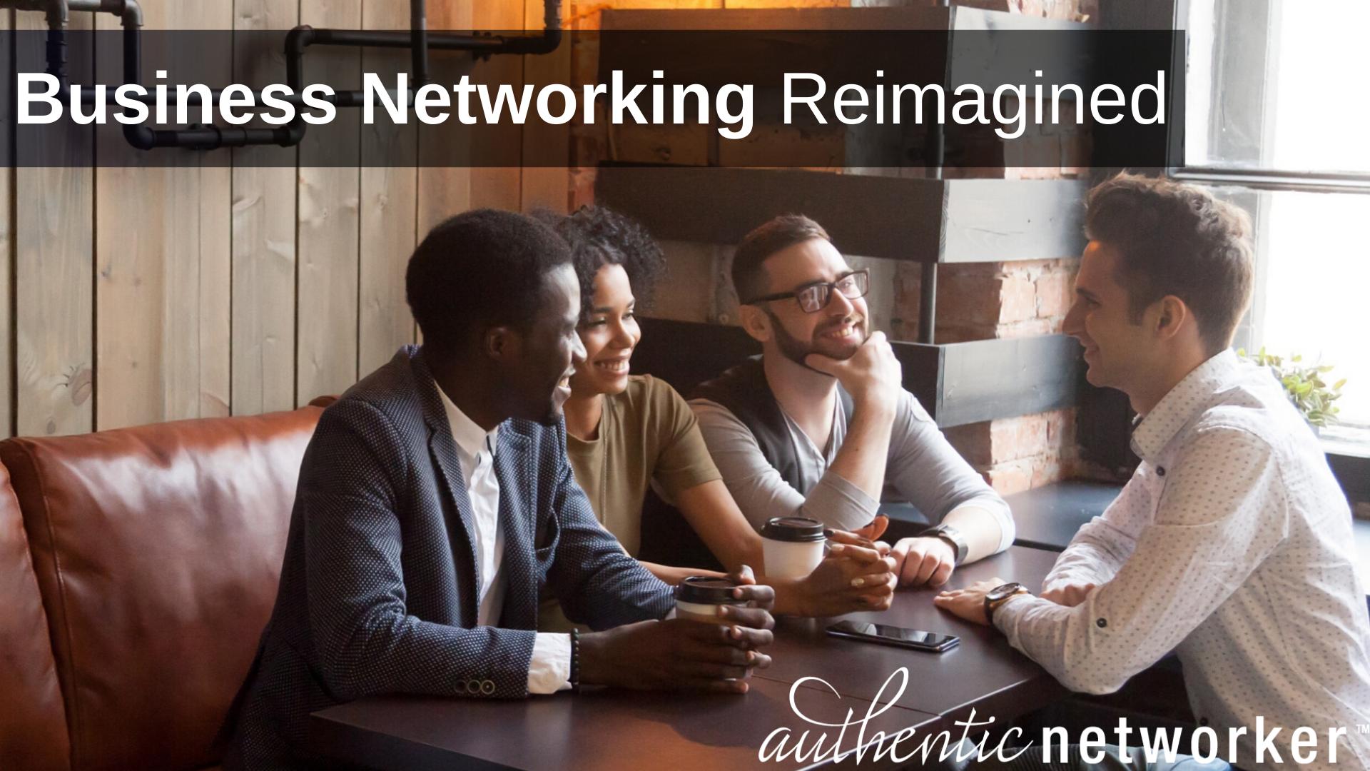 Business Networking Reimagined - DMV