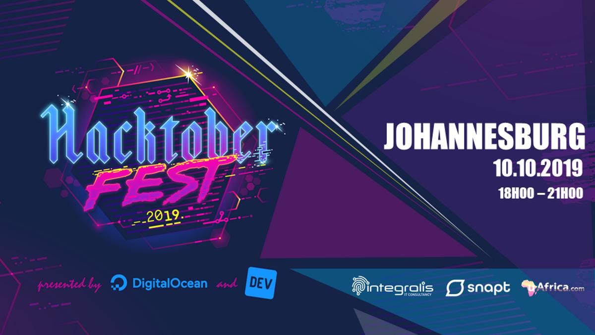 #Hacktoberfest 2019 Johannesburg