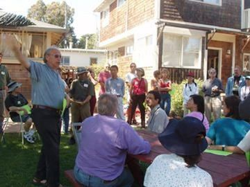 Berkeley Cohousing tour