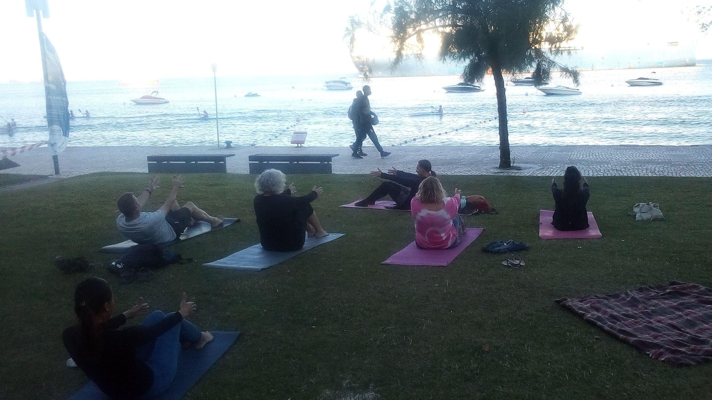 Setúbal evening donation yoga