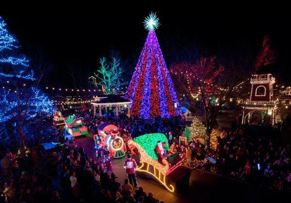 Callaway Gardens Fantasy in Lights Free OneDay Garden