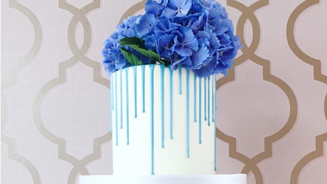 Drip Cake mit Blumen gestalten am 12.08. um 18:00 Uhr