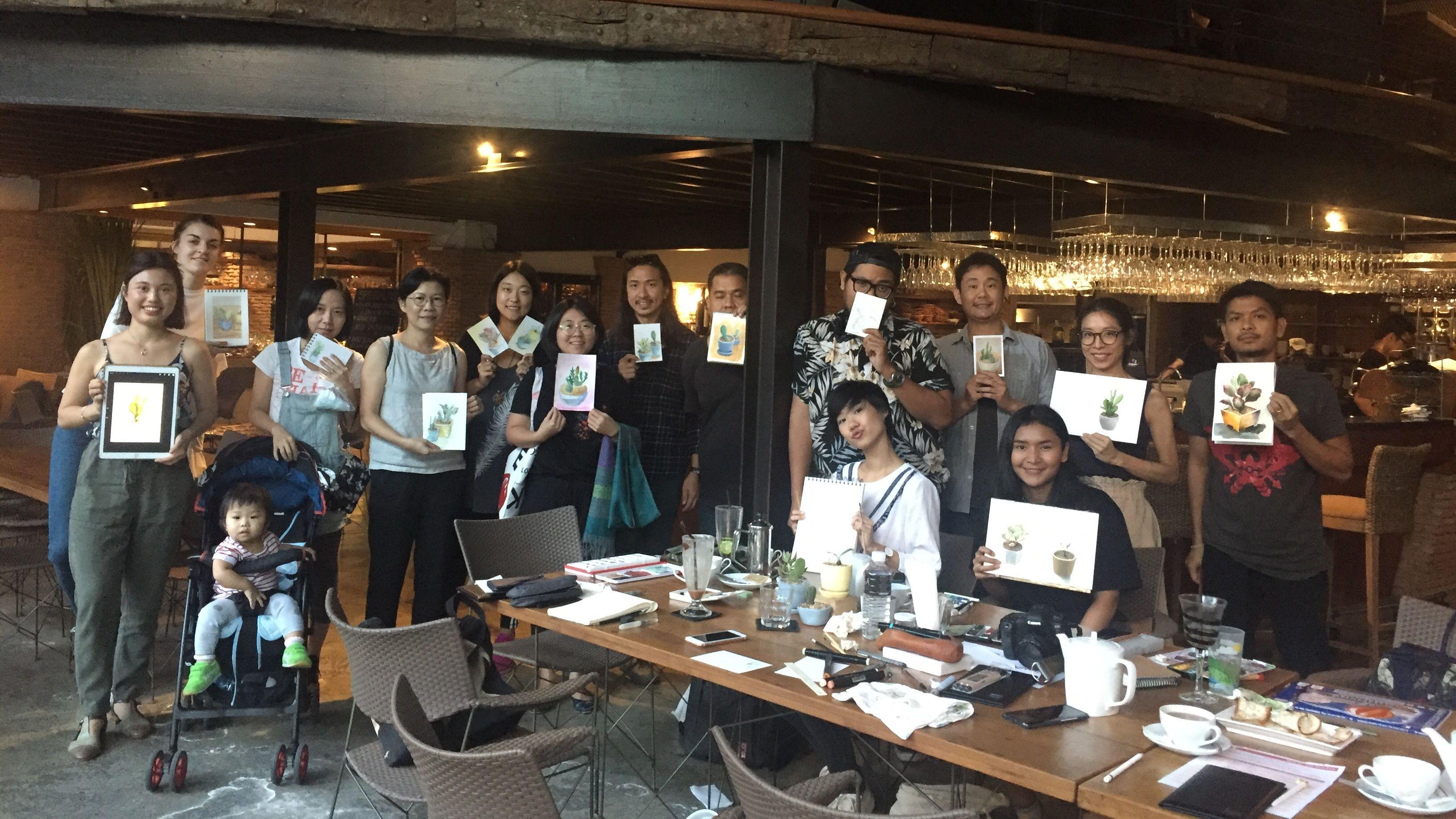 BKK Sketchers Meetup