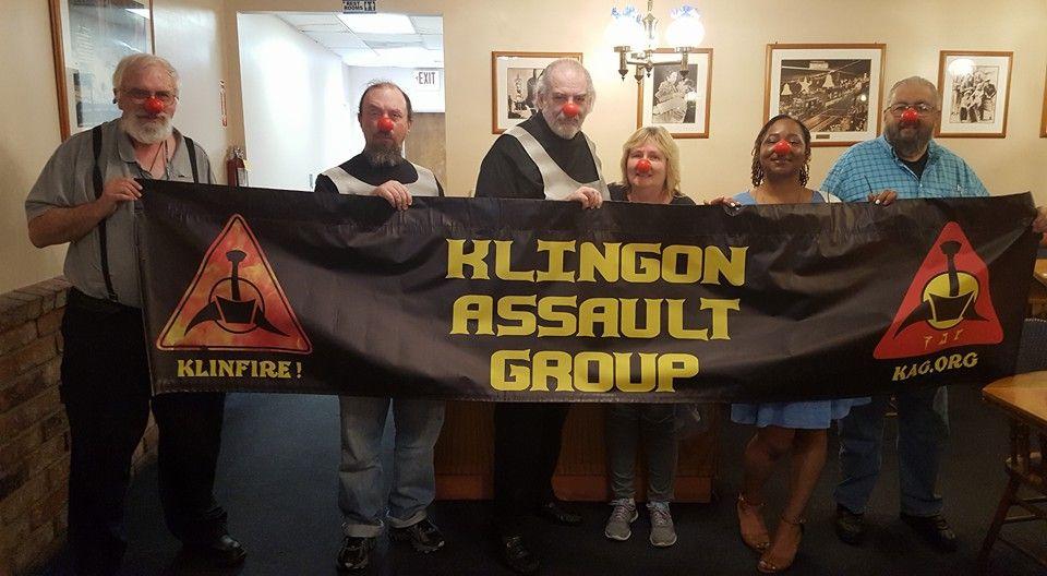 Los Angeles Klingon Meetup---   IKV DARK SUN, of KAG
