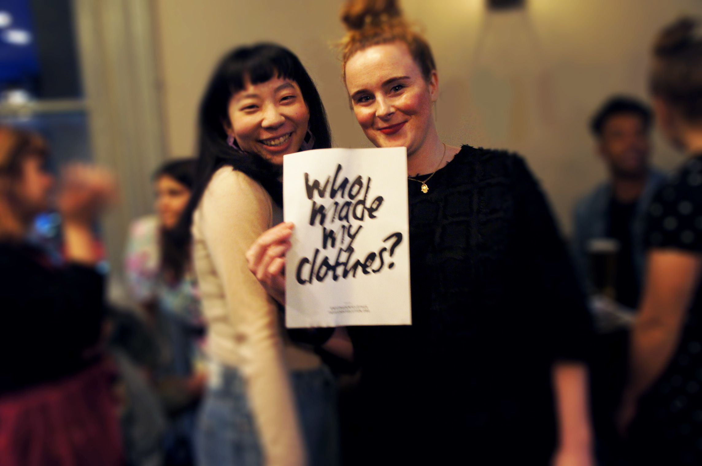 Green is the new black: London Sewing and Fashion