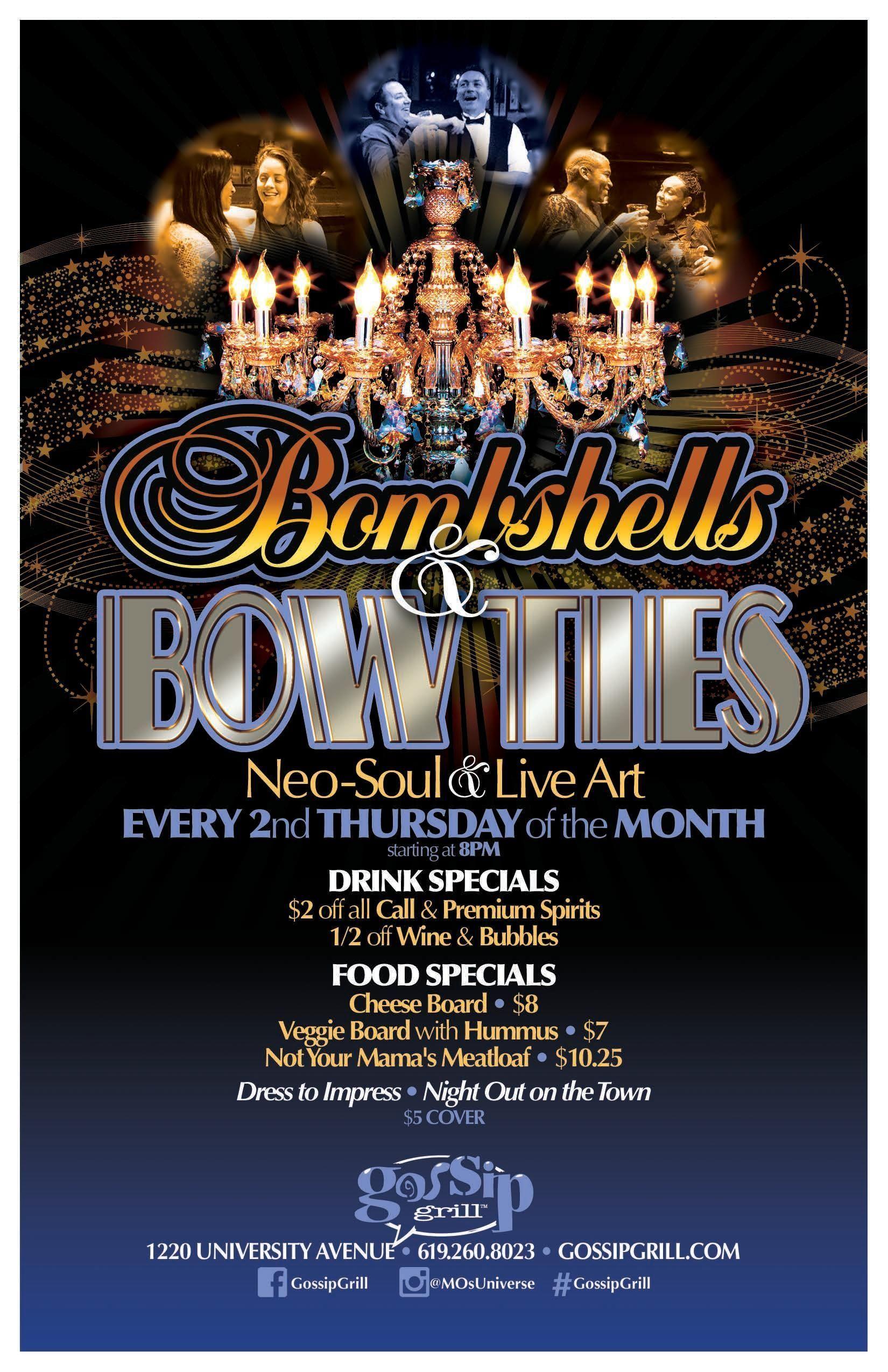 Bombshells & Bow Ties - Live Art & Neo Soul