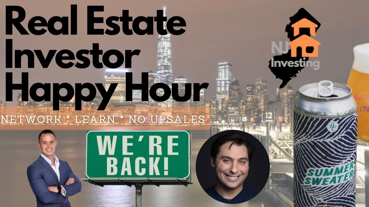 New Jersey Real Estate Investing Happy Hour