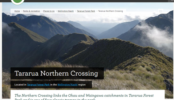 Tararua Northern Crossing car-swap - Expressions of Interest | Meetup