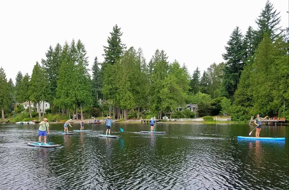 Paddling Puget Sound - SUP and Kayak