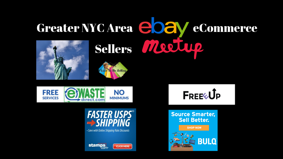 The Greater NYC Area eBay eCommerce Sellers Meetup Group