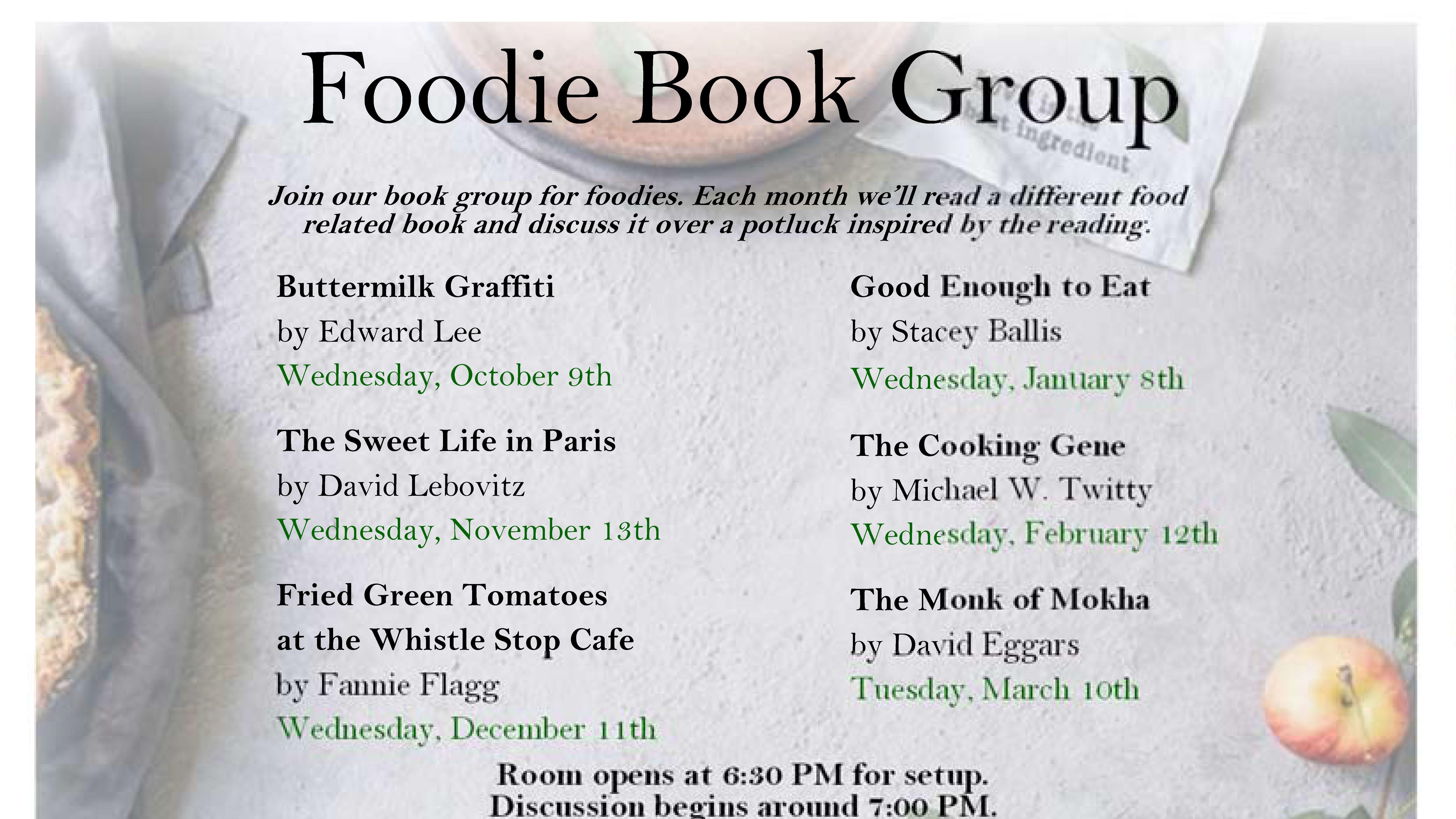 North End Foodie Book Club