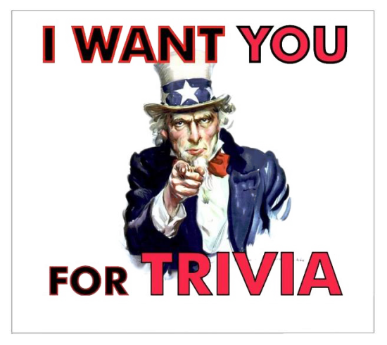 Trivia, Bbq, Beer, English