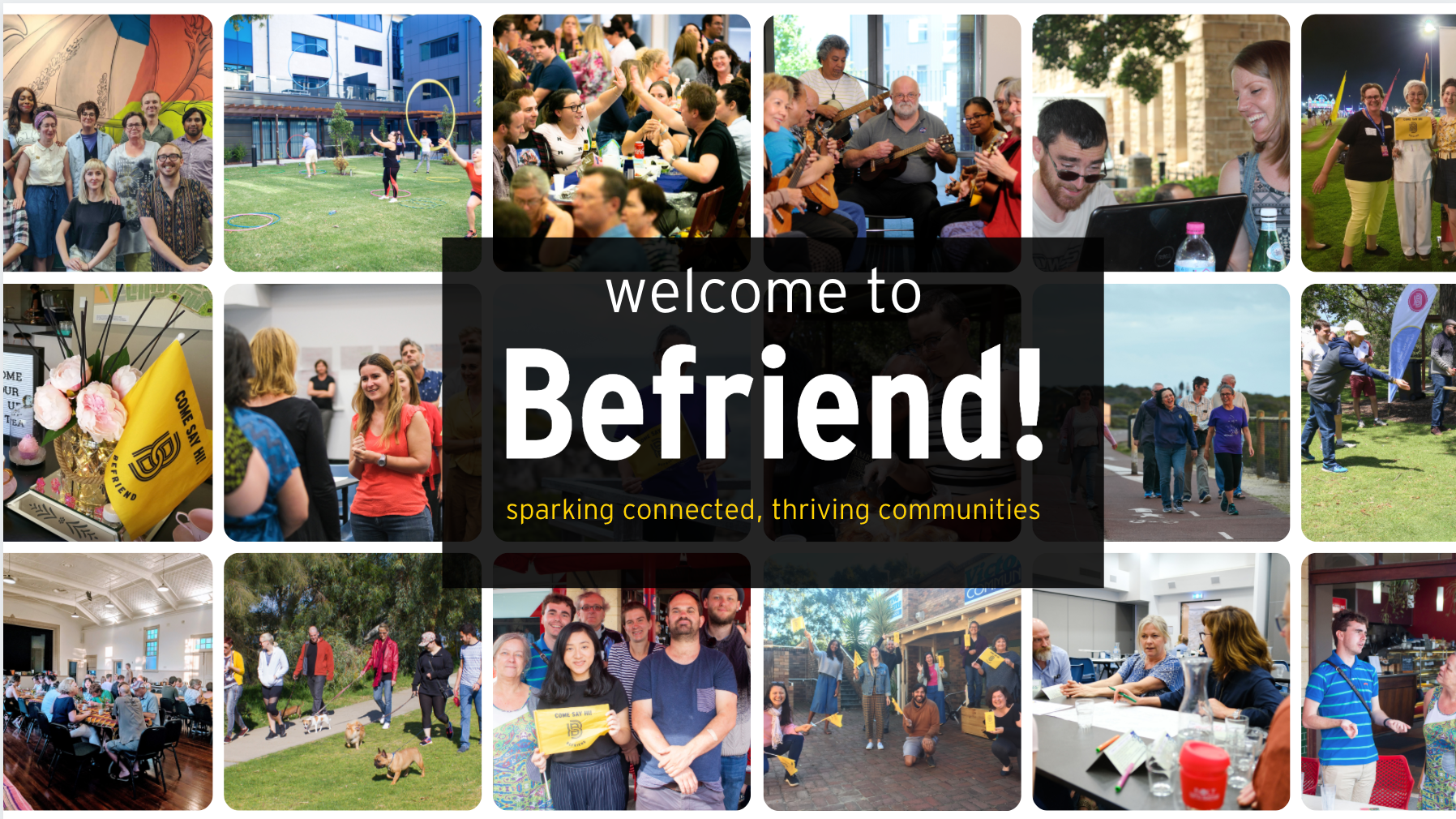 Befriend Social Network Perth