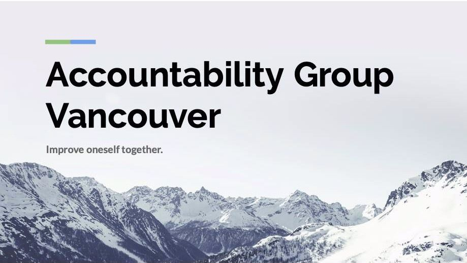 Accountability Group Vancouver
