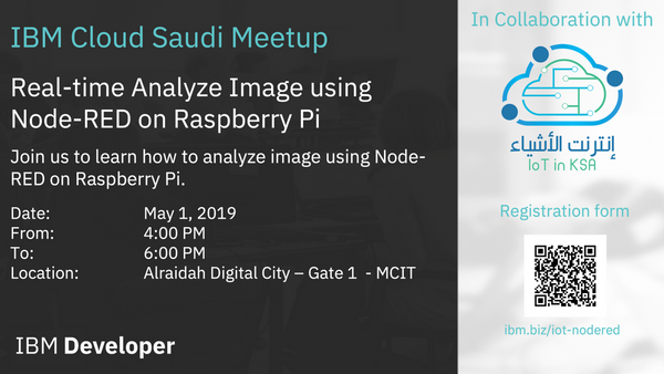 Real-time Analyze Image using Node-RED on Raspberry Pi | Meetup