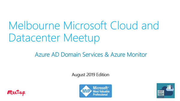 Azure AD Domain Services and Azure Monitor | Meetup