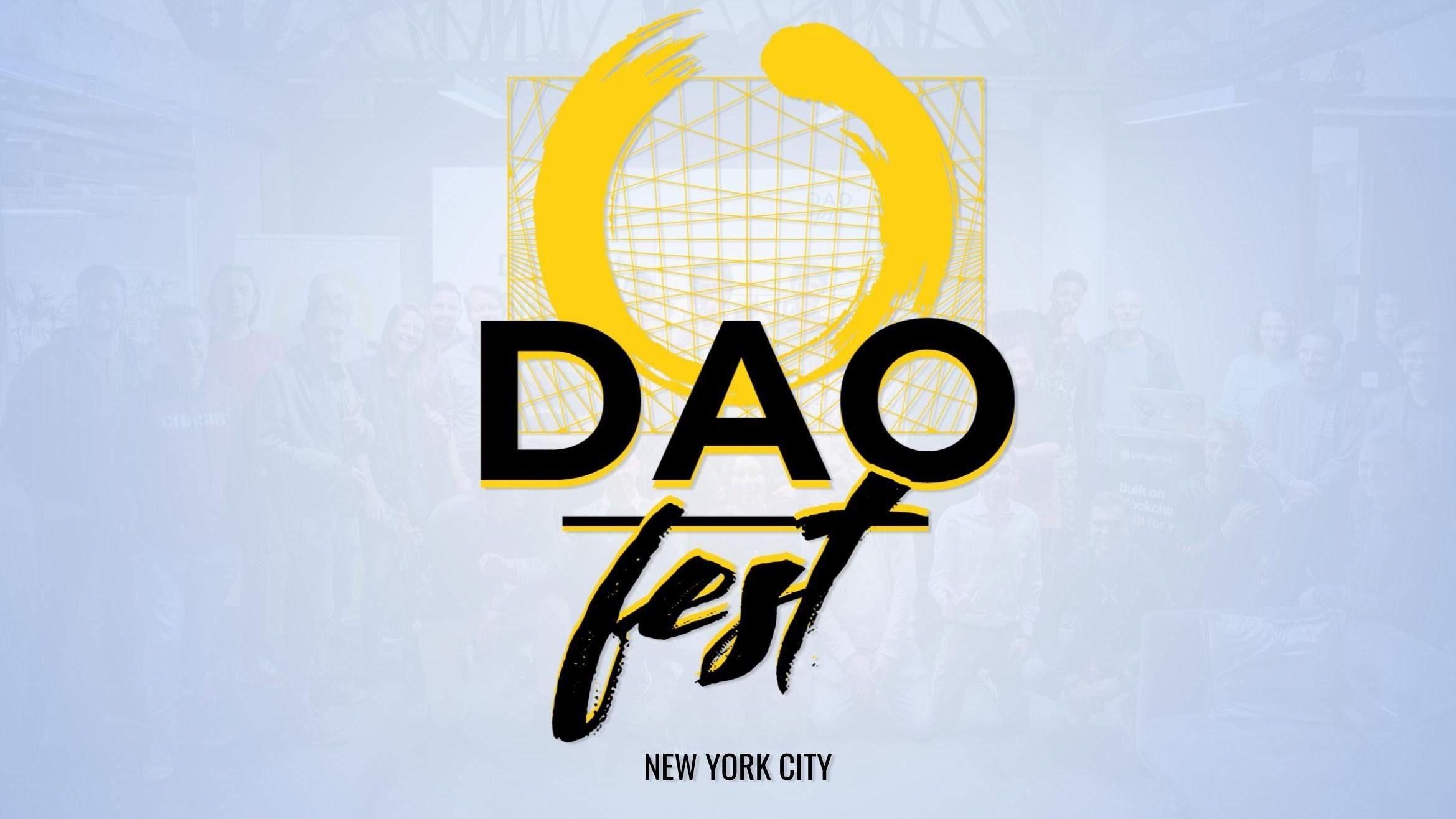 DAOfest NYC