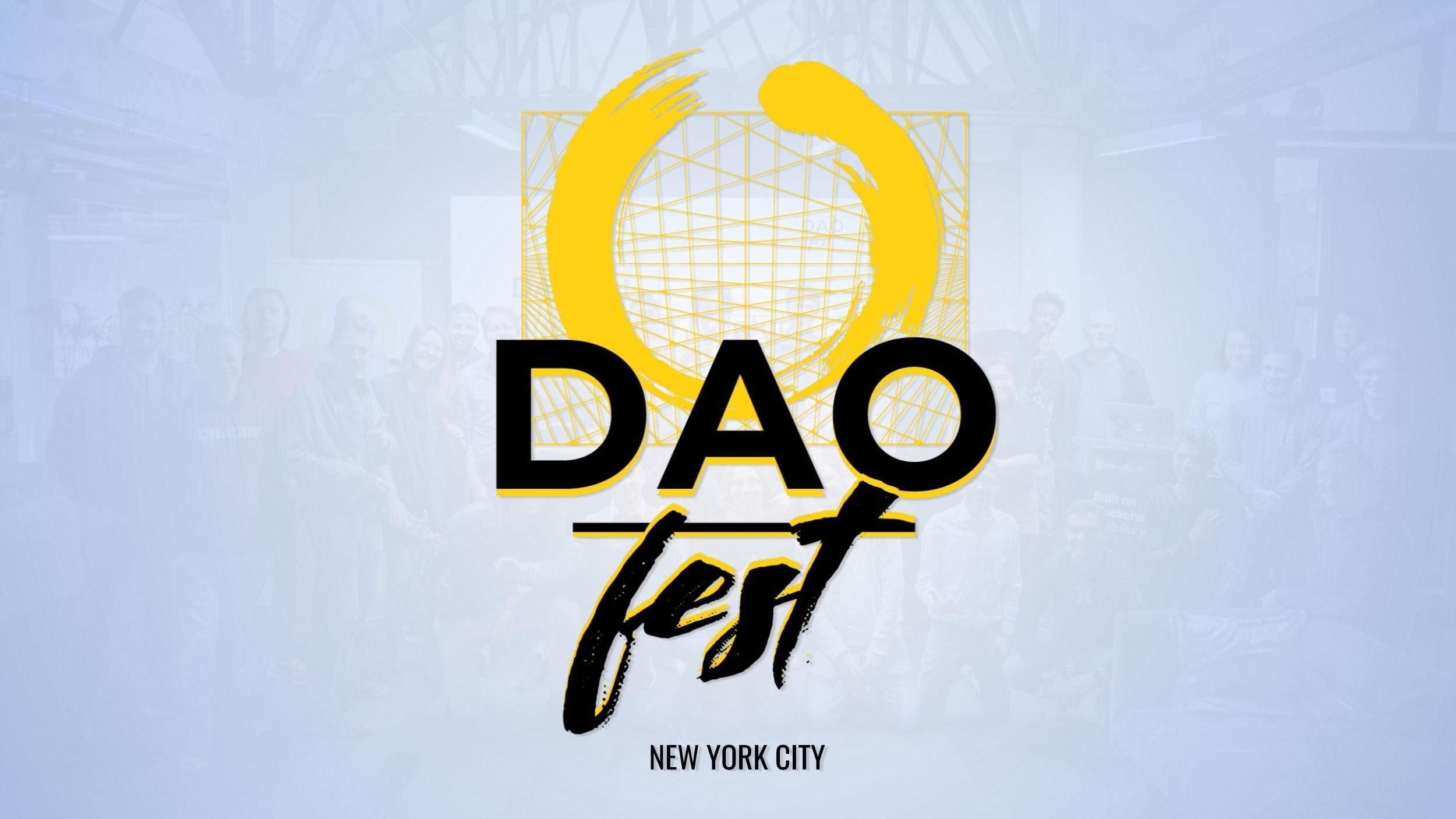 DAOfest NYC