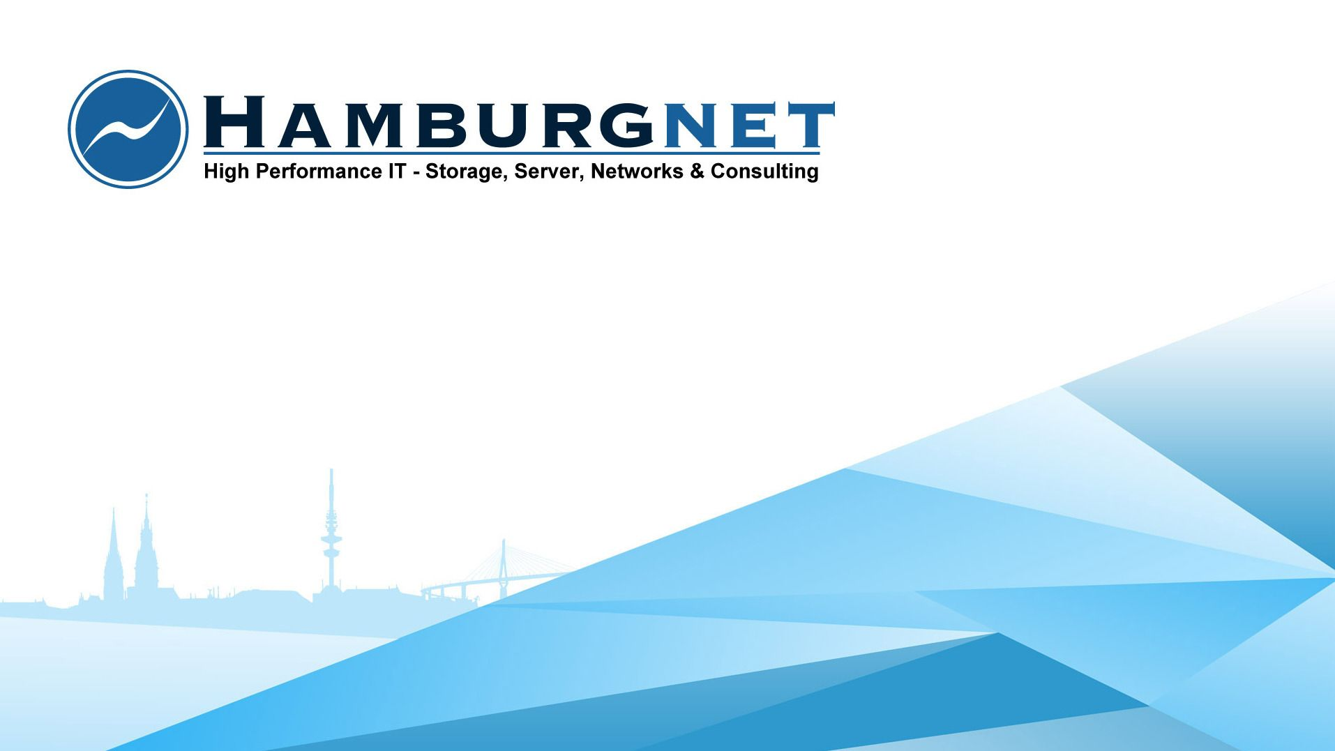 Hamburgnet - Software Defined Datacenter