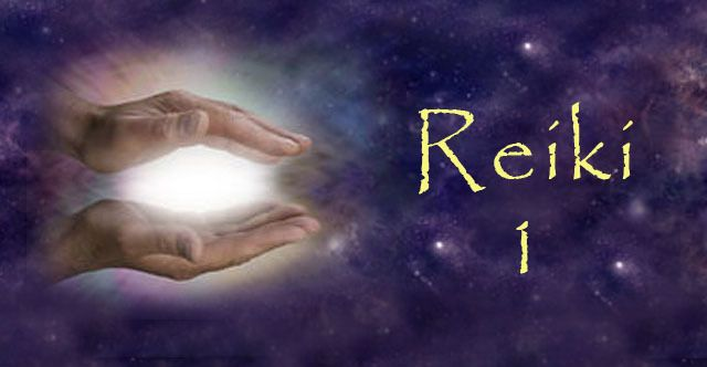 First degree Reiki Usui training - initiation (in English)