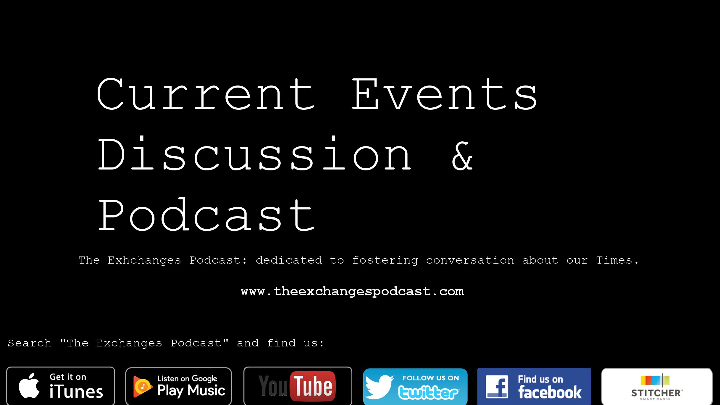 Current Events Discussion and Podcast Atlanta