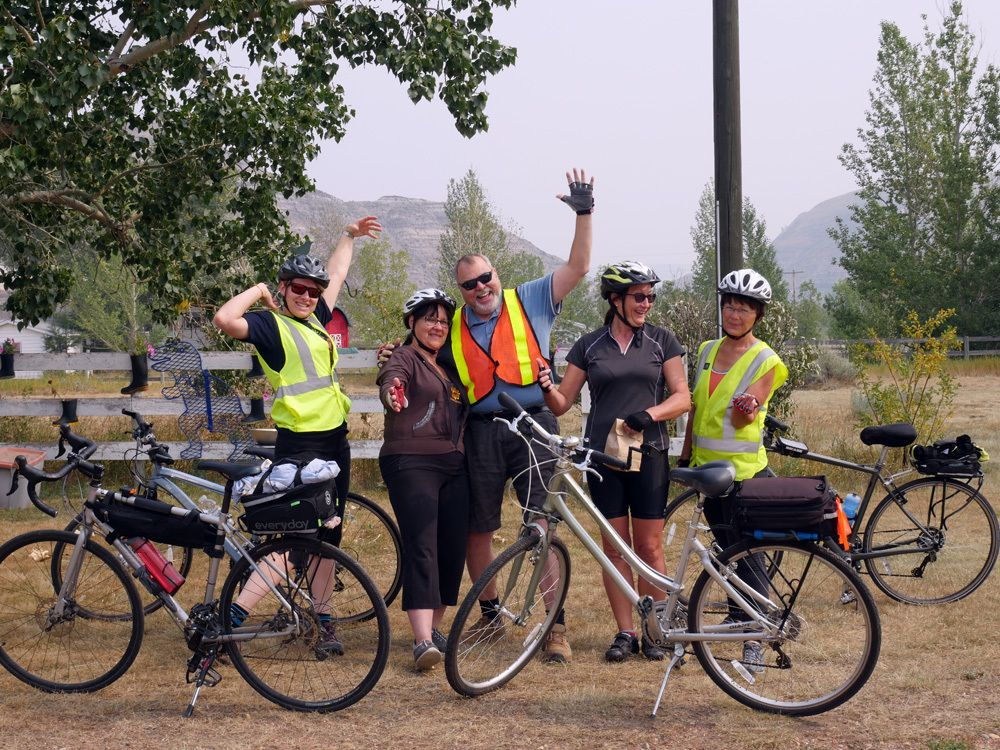 The Millet Central Alberta Cycling Meetup