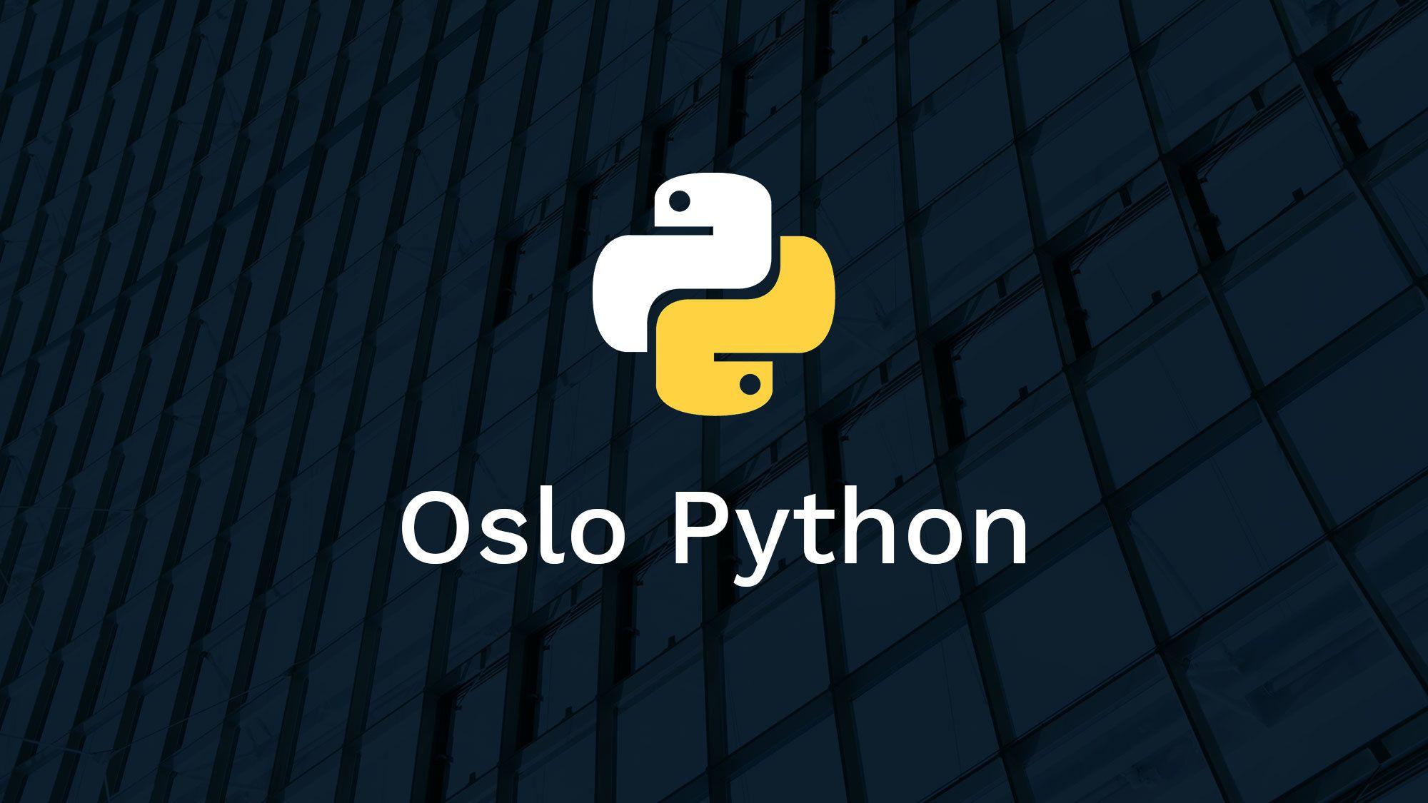 Oslo Python