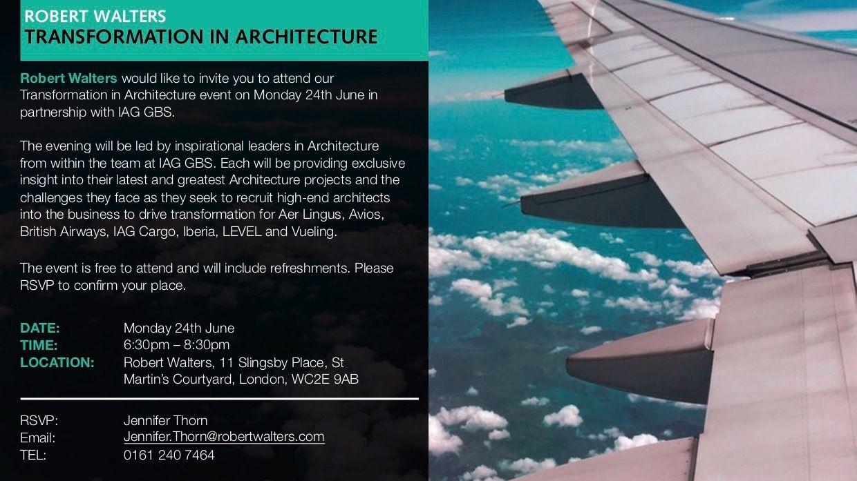 Enterprise Architecture Meetup - London