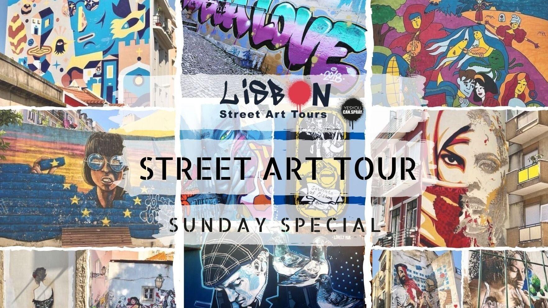 SUNDAY SPECIAL | street art walk & workshop