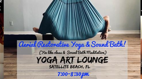 aerial yoga  sound bath meditation  meetup