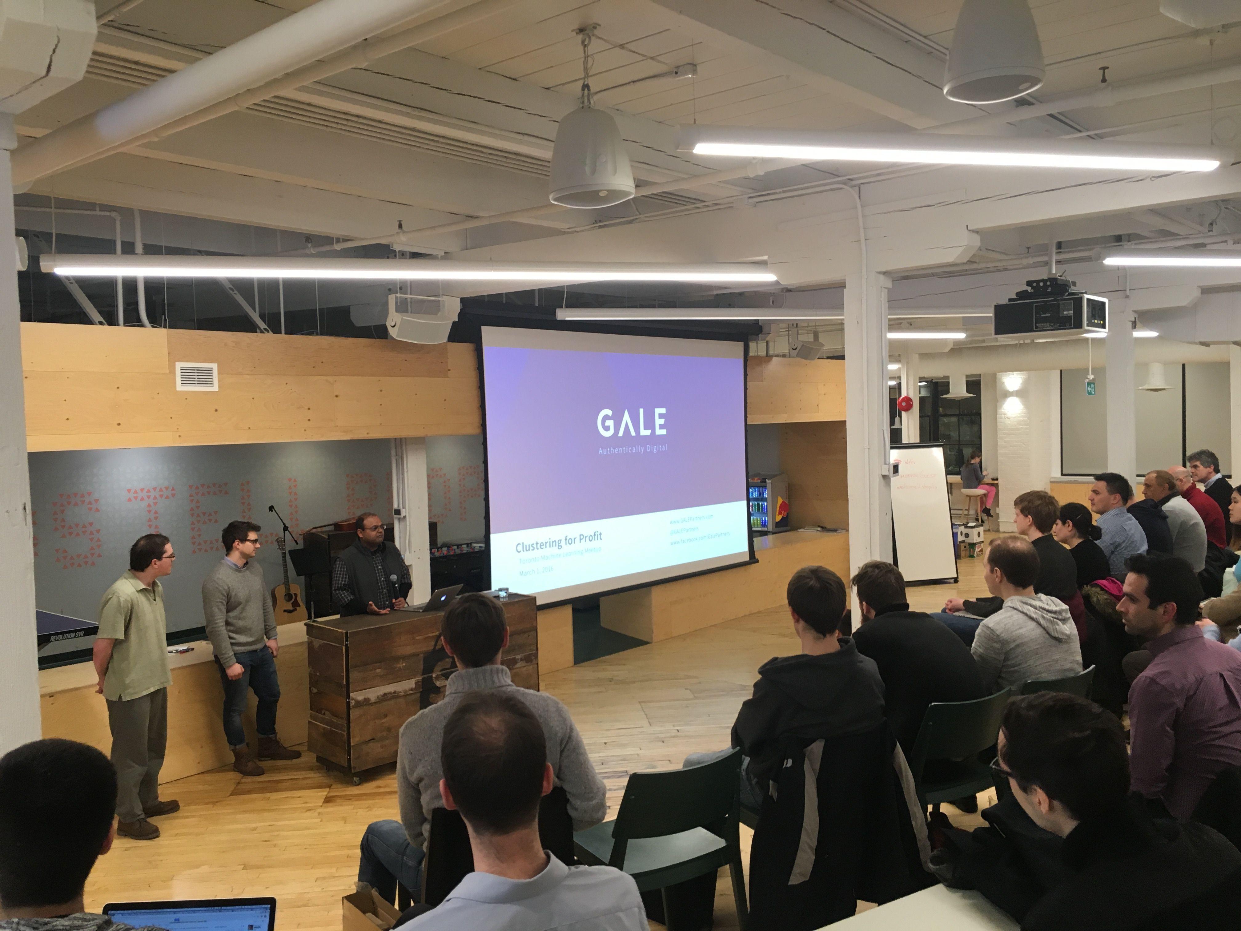 Toronto Machine Learning Meetup