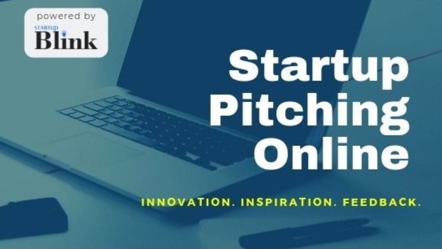 Online Global Startup Pitching Event