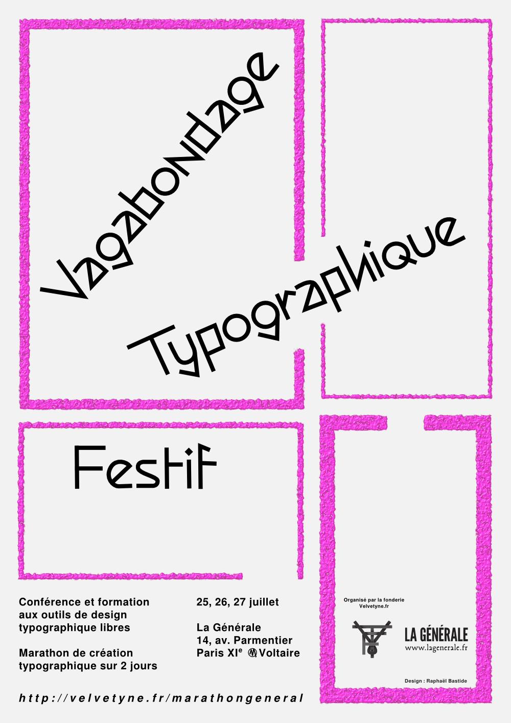Marathons typographiques libres
