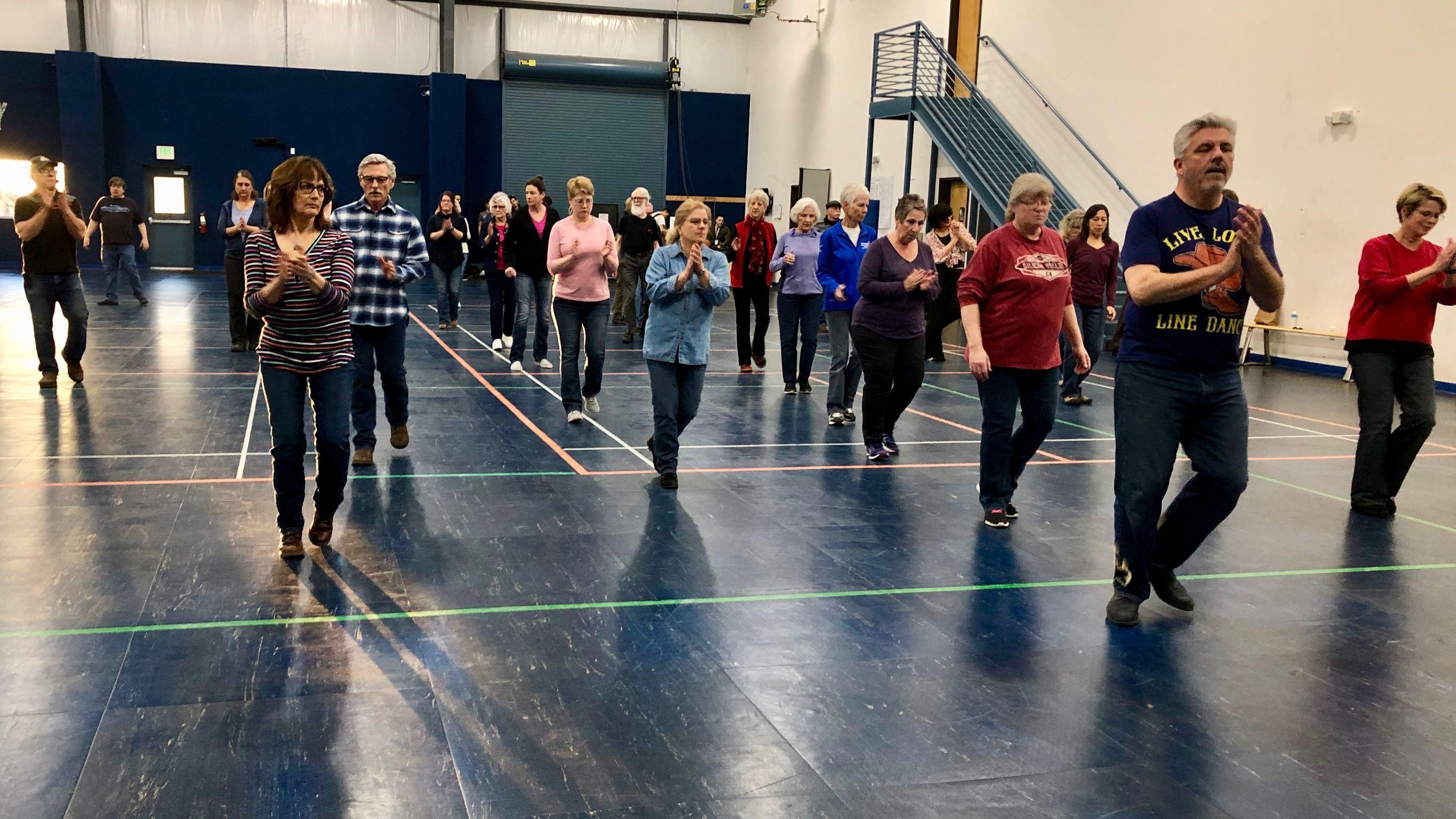 Line Dancing for Intermediate, Improvers & Beginners