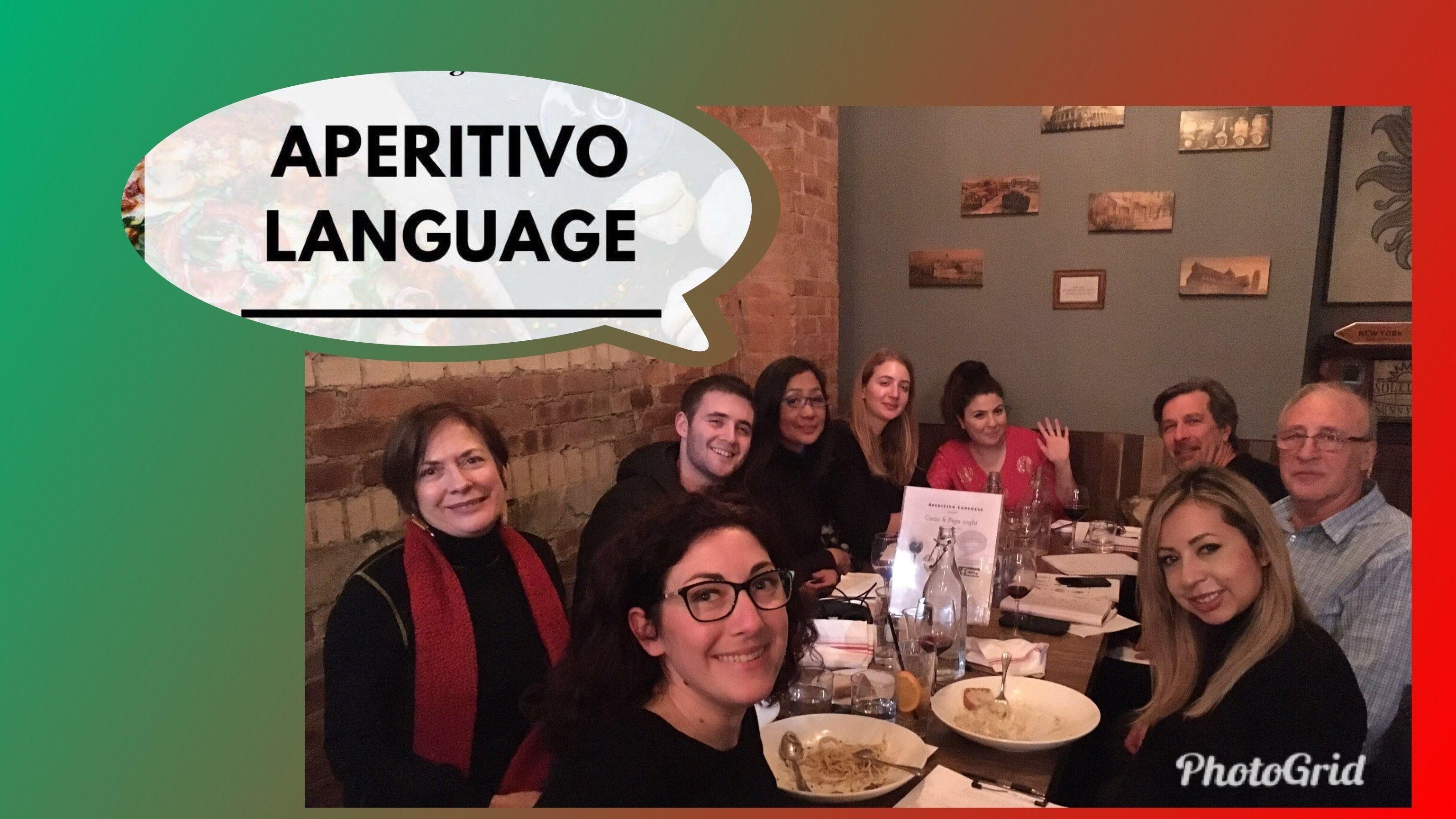 Aperitivo Language