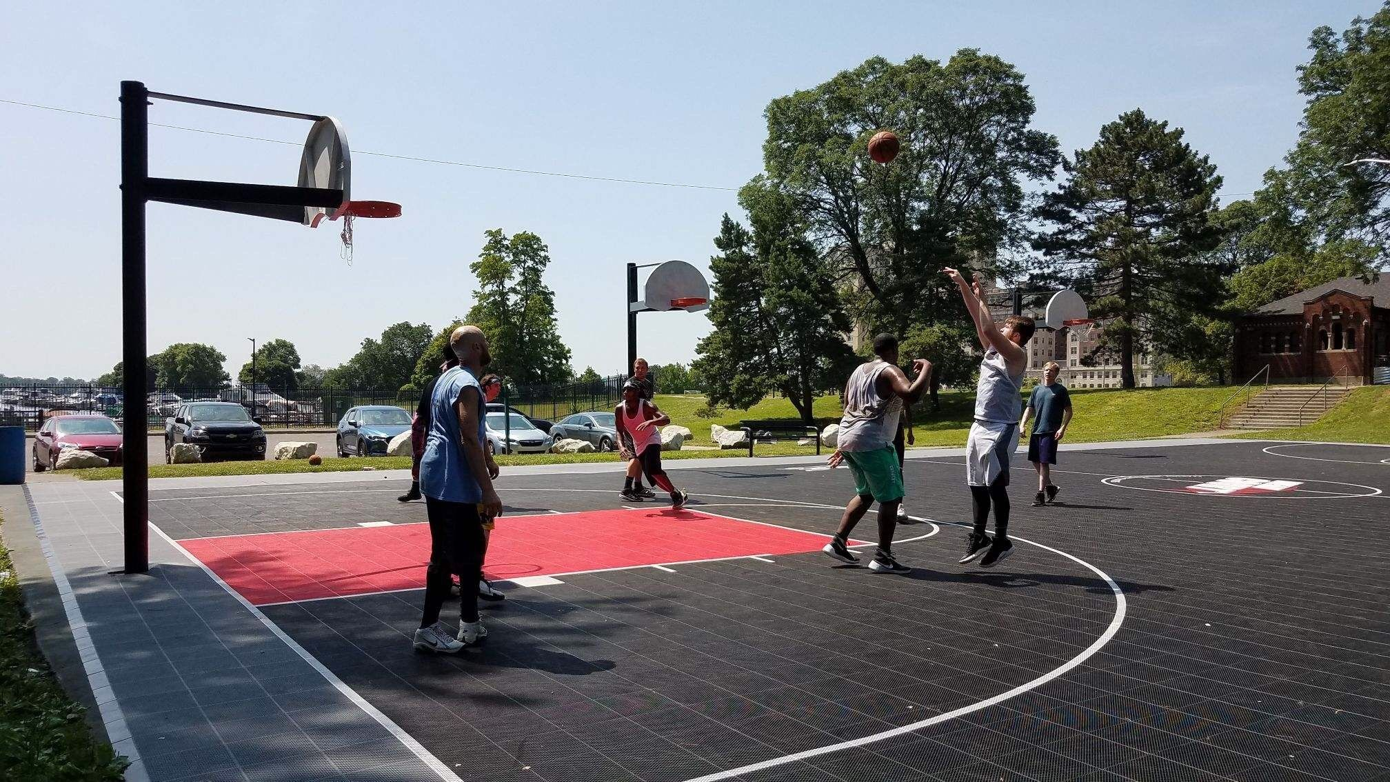 Metro-Detroit Recreational Outdoor Pick-up Basketball
