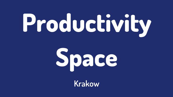 Productivity Space Kraków