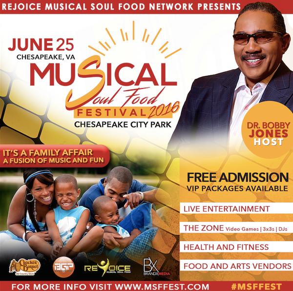 Rejoice Musical Soul Food Festival