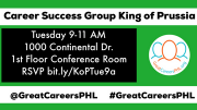 Photo for King of Prussia Career Success Group - Must RSVP bit.ly/KoPTue9a  October 22 2019